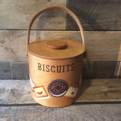 Koekjespot hout Biscuits