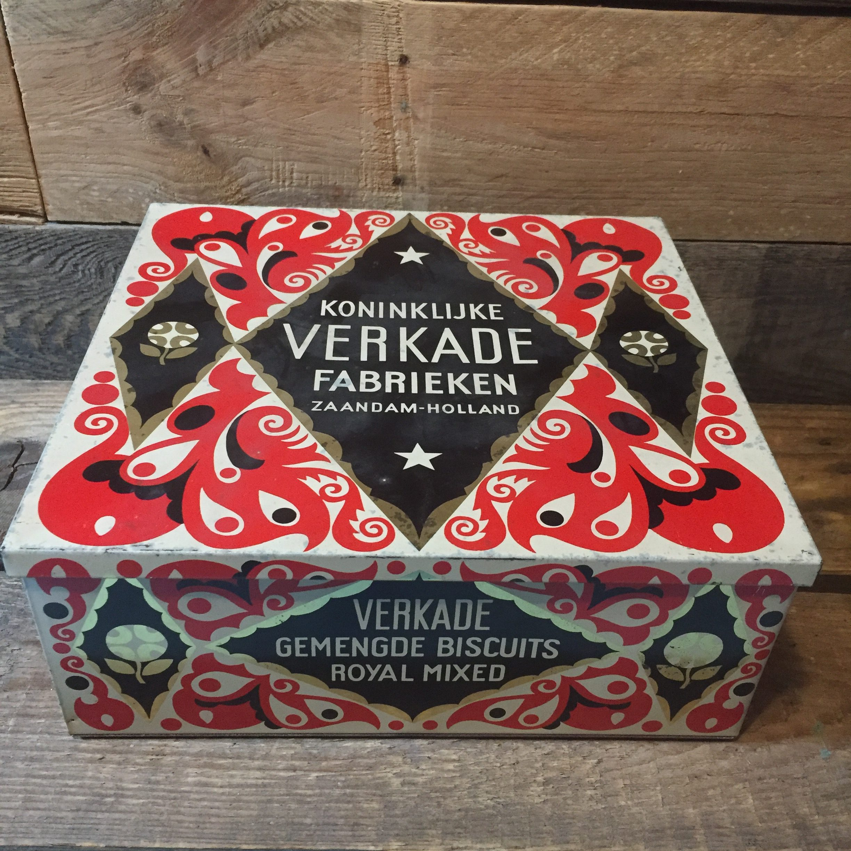 verkade koekblik www.queensbrocanteboutique.nl brocantewebshop webshop brocantebrabant