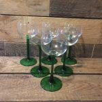 vintage wijnglazen www.queensbrocanteboutique.nl brocantewebshop webshop brocantebrabant